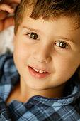 Happy kid portrait