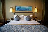 Elegant and comfortable bedroom interior