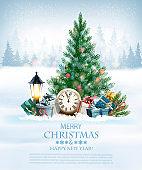 Holiday Christmas illustration