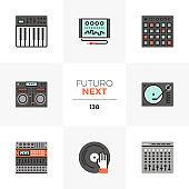 Sound Studio Futuro Next Icons