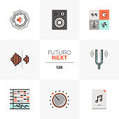 Sound Production Futuro Next Icons