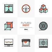 3D Printing Futuro Next Icons