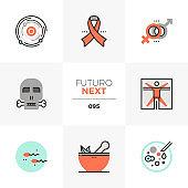 Human Life Futuro Next Icons