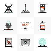Medieval Culture Futuro Next Icons