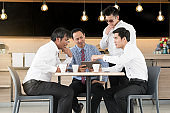 Business team have meeting
