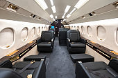 Private airplane seat