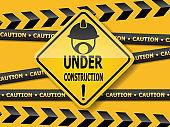 under construction  sign work in progress
