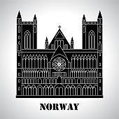 Gothic Nidaros cathedral icon