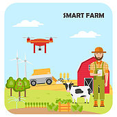 Smart farming. Agricultural automation and robotics with modern technologies