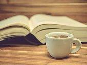 Espresso Coffee and Books