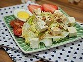 Asian food tofu salad