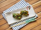 Korean food cucumberkimchi