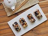 Korean food, nutrition rice cake