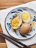 Korean food Soy Sauce Braised egg, Jang-jorim