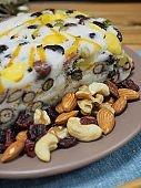 Korean food, nutrition rice cake, Nut mix