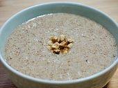 Korean food Perilla porridge