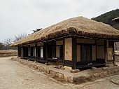 Korean traditional house Thatched house