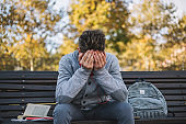 Emotional stress - teenage boy