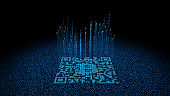 QR code technology, wireless network connection,bitcoin