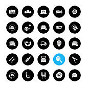 Auto workshop icons