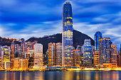 HK CBD Central close rise