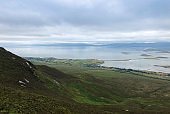View from Croagh Patrick mountain