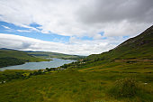 Dunlewey or Dunlewy is a small Gaeltacht village in the Gweedore area