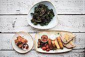 Kale chips deep fried high end restaurant trendy