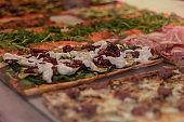 pizza deli counter