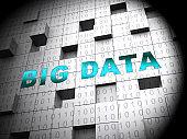 Bigdata Flow Stream Of Big Data 3d Rendering