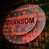 Ransom Computer Hacker Data Extortion 3d Rendering