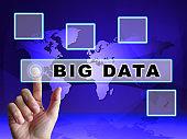 Big Data Tools Digital Toolbox 3d Illustration
