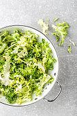 fresh crunchy juicy lettuce Frize