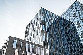 modern building details
