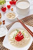 cold soy milk korean soup kongguksu