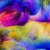 Colorful Paint Elements
