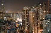 hong kong high rise apartments.
