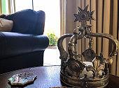 Decorative Knick Knacks on the coffee table