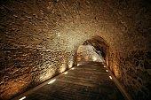 Panathenaic stadium tunnel