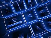 Internet online insurance risk protection