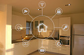 Smart home automation network application internet technology