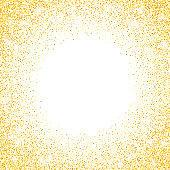 Vector falling in lines silver glitter confetti dots