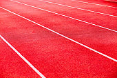 All-weather running track background