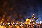Christmas Ornaments - Decoration Defocused Bokeh Background