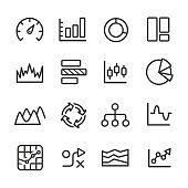 Info Graphic Icons Set - Line Series