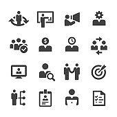Human Resources Icons Set - Acme Series