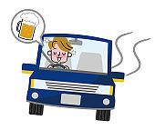 Drunken driving.