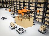 Automation warehouse concept