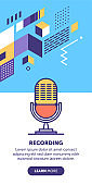 Microphone Banner