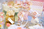 Some beautiful wedding accessories
